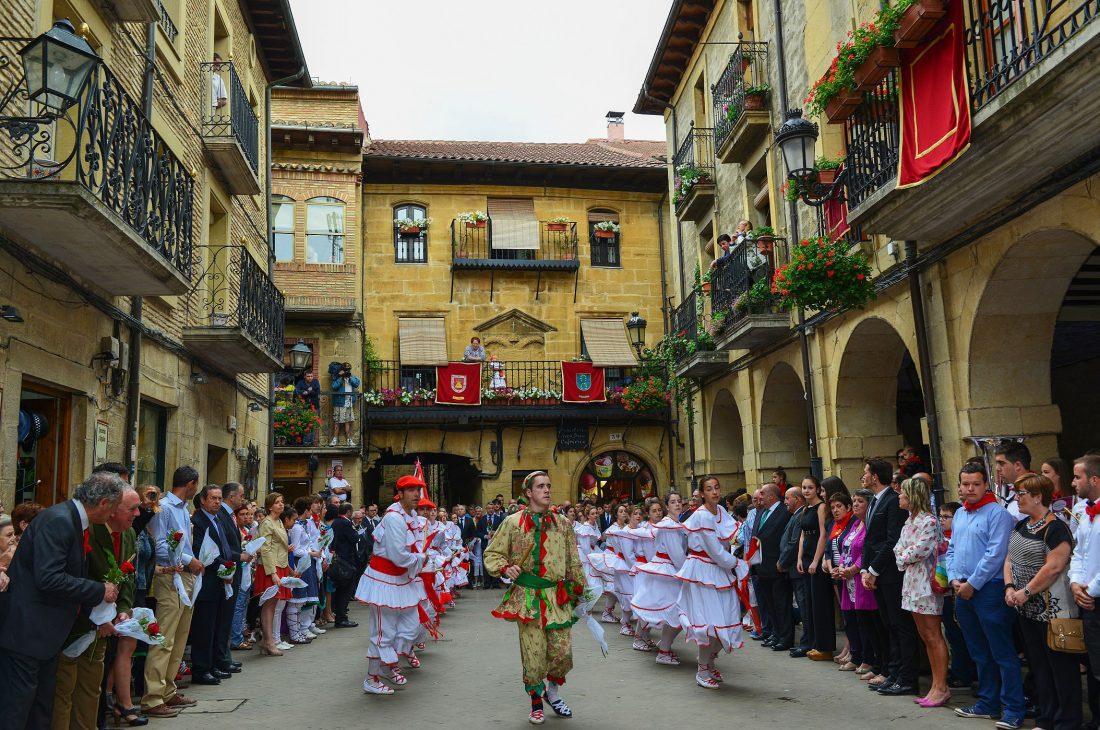 Fiestas de Laguardia en Rioja Alavesa