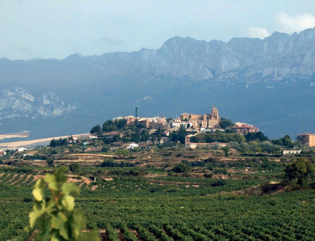 Vista de la villa de Laguardia